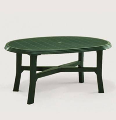 Stôl DANUBIO zelený