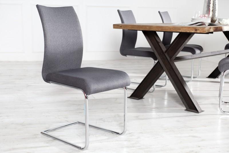 Stolička / konzola Suave šedá
