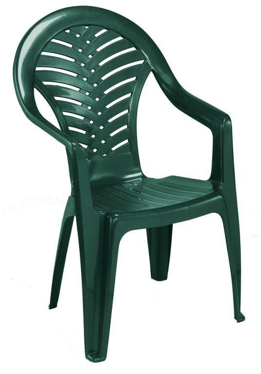 Stolička vysoká OCEÁN - zelená