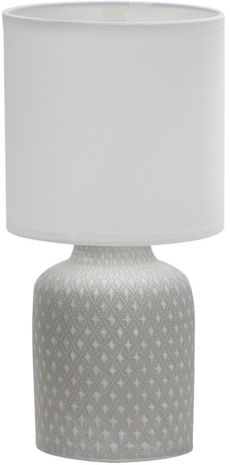 Stolná lampa INER 1xE14/40W/230V šedá