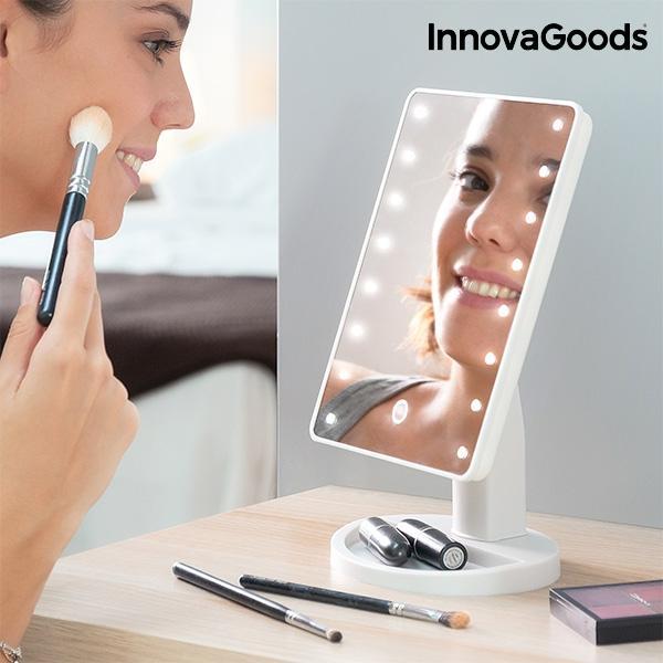 Stolné zrkadlo InnovaGoods LED IN0954