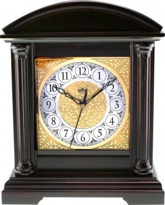 Stolové hodiny MPM, 2697.54 - tmavé drevo, 31cm