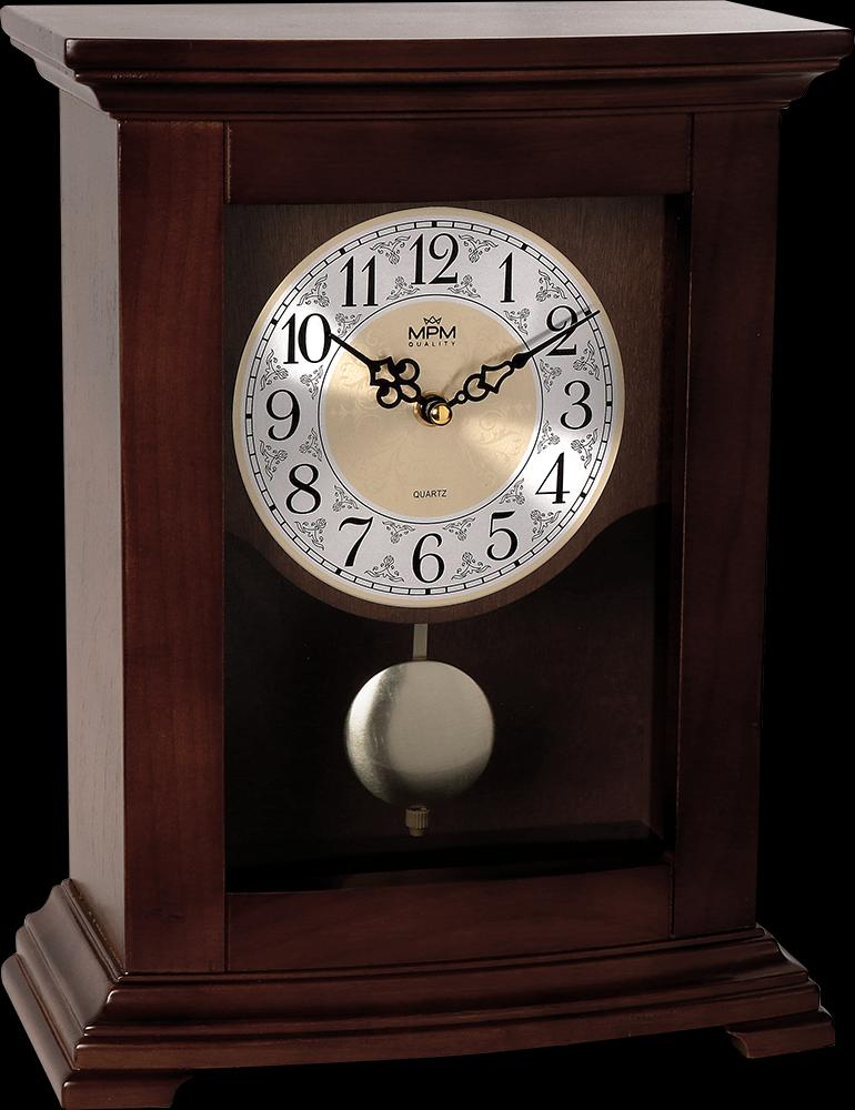 Stolové hodiny s kyvadlom MPM 3889.54