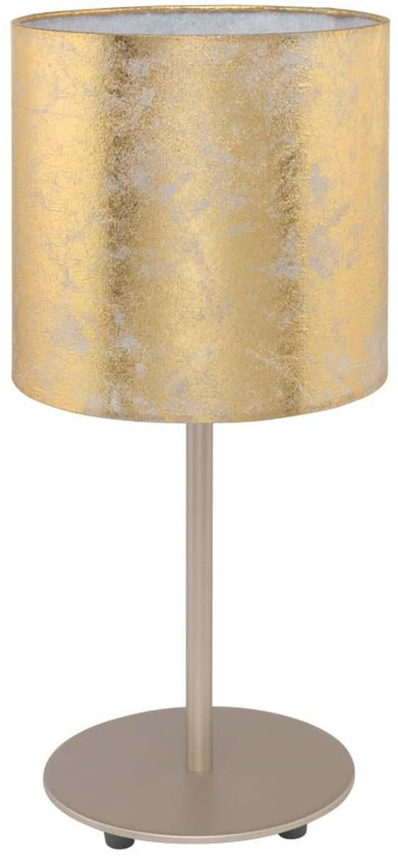 Stolové svietidlo EGLO VISERBELLA E27 zlatá 97646