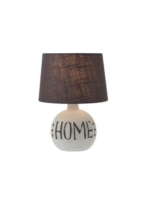 Stolové svietidlo REDO HOME VE 1X28W E14 GREY 01-1374