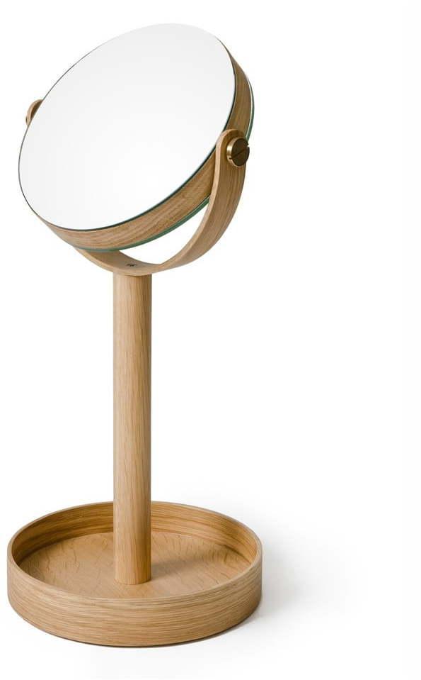 Stolové zrkadlo s poličkou Wireworks Magnify