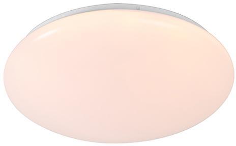 Stropné svietidlo biele vrátane LED a stmievača s diaľkovým ovládaním - Iene