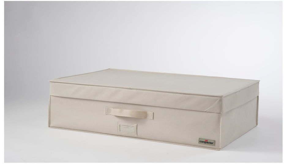 Svetlobéžový vákuový box Compactor, šírka 72 cm
