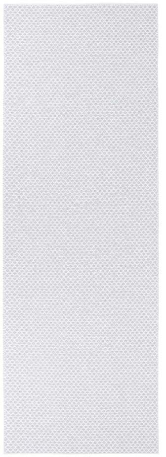 Svetlosivý behúň vhodný do exteriéru Narma Diby, 70 × 200 cm