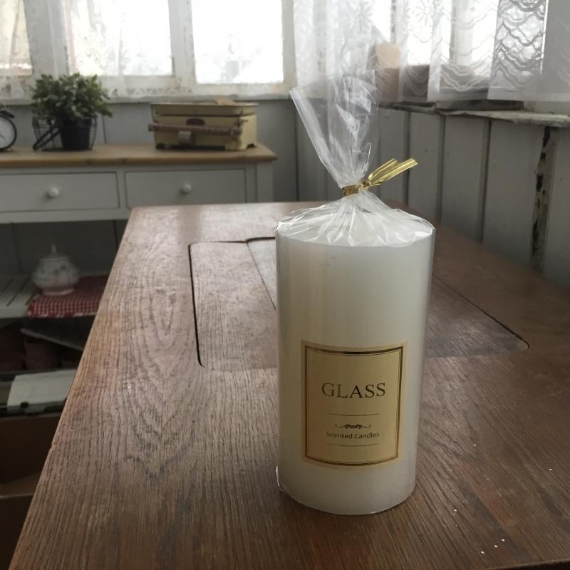 Sviečka Glass Scented candle valec 7x13cm