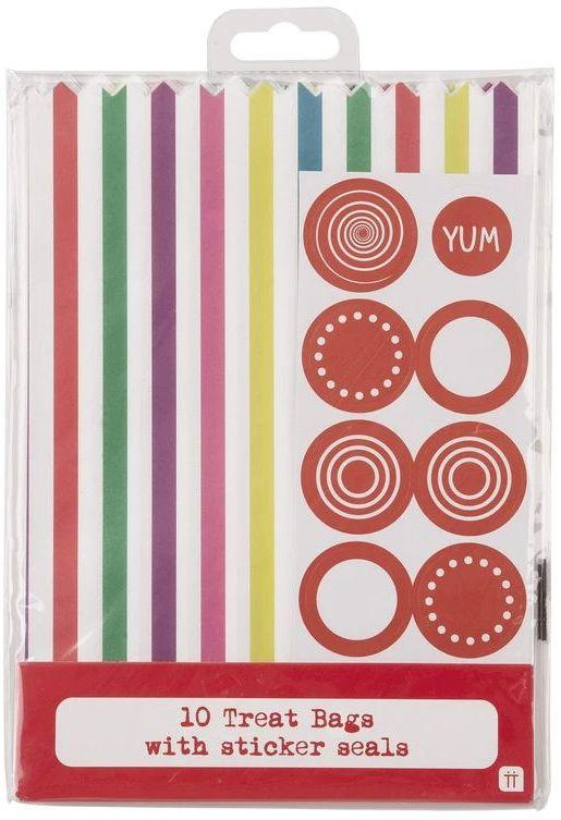 Talking Tables Papierový sáčok Treat Bag Multi-colour – 10 ks