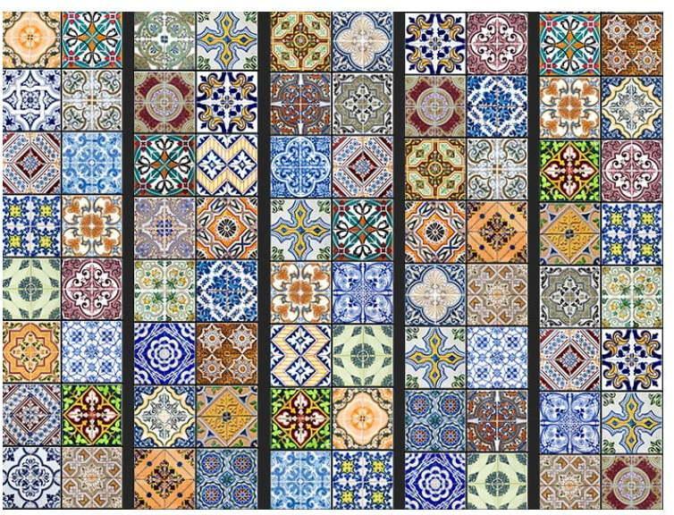 Tapeta v rolke Bimago Mosaic, 0,5 × 10 m