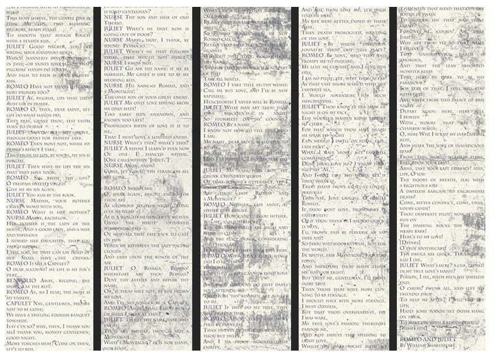 Tapeta v rolke Bimago Shakespeare, 0,5 × 10 m