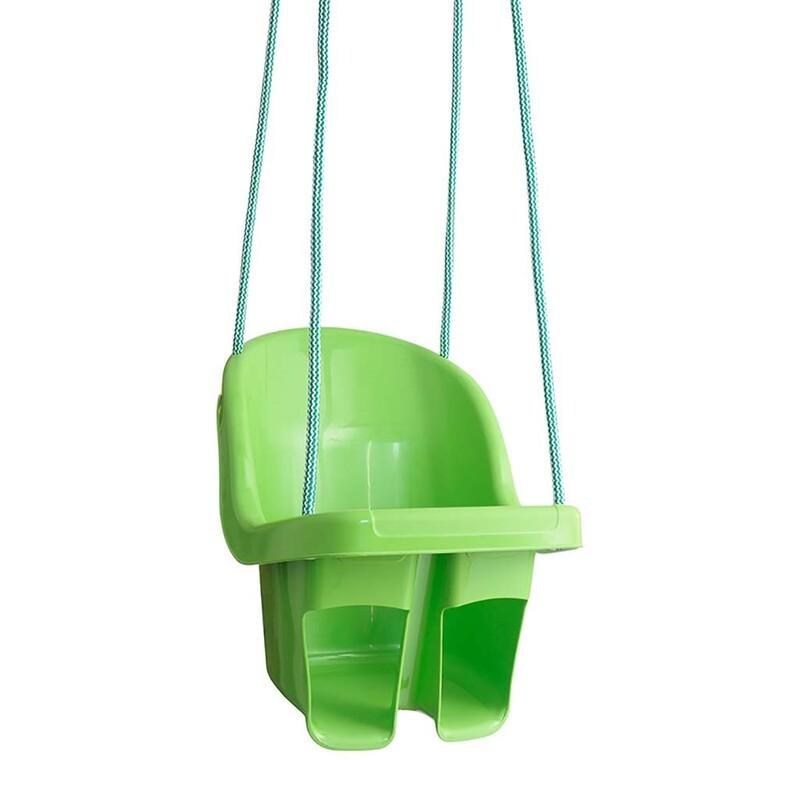 TEGA - Detská závesná hojdačka zelená