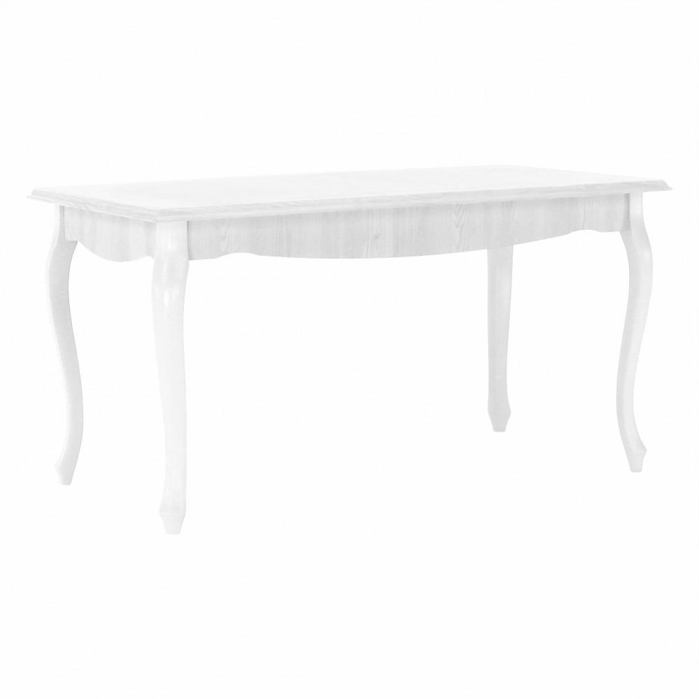 TEMPO KONDELA Jedálenský stôl DA19, sosna biela, VILAR