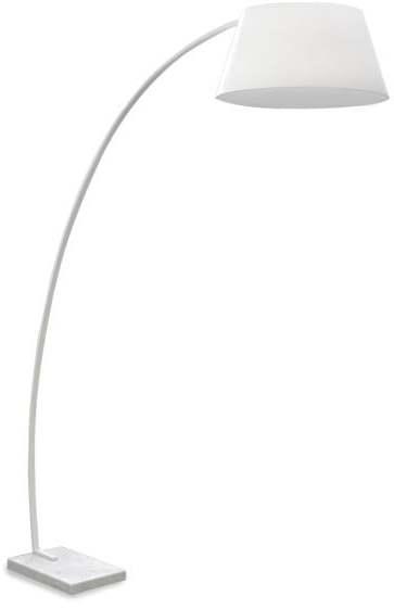 Textilné svietidlo AZZARDO OLAV floor white AZ1035