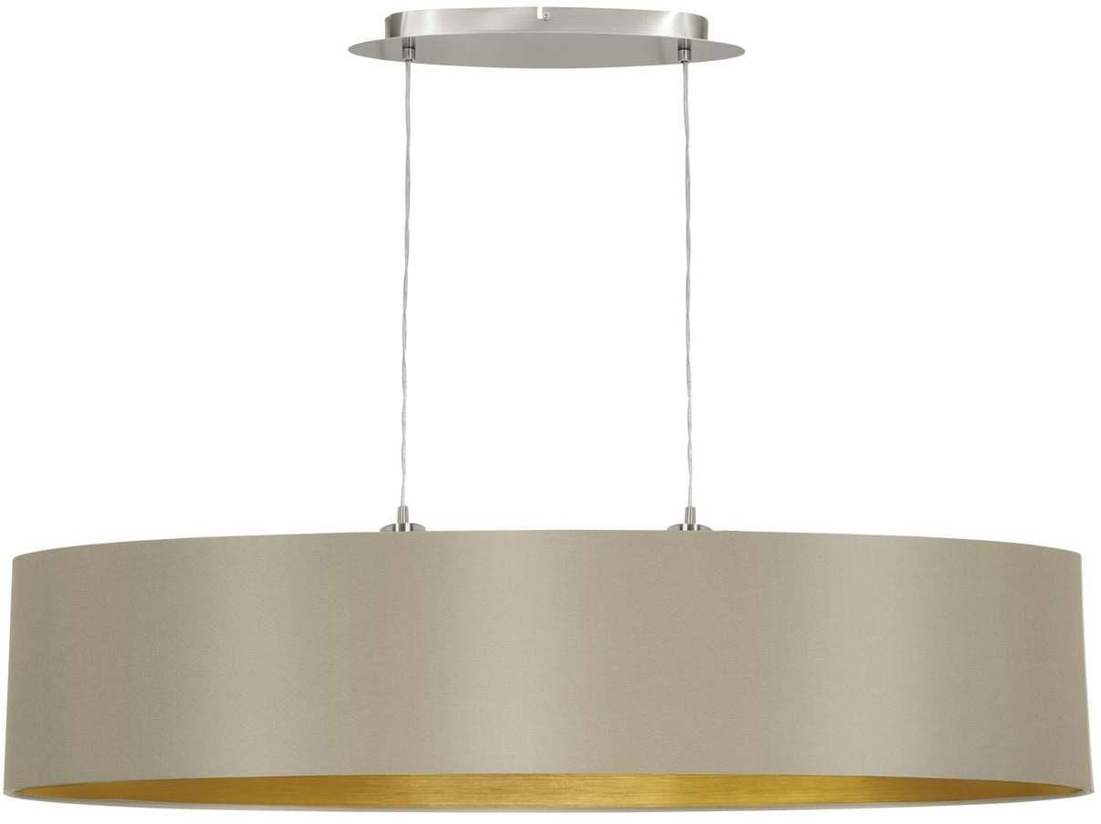 Textilné svietidlo EGLO MASERLO hnedá/zlatá 31618