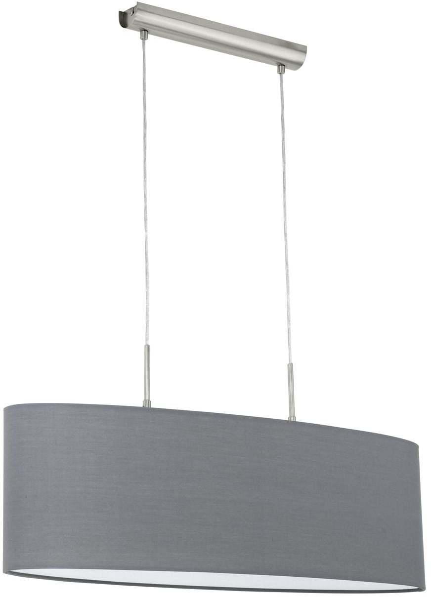 Textilné svietidlo EGLO PASTERI šedá E27    31582