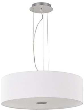 Textilné svietidlo IDEAL LUX Woody SP4 Bianco 122236