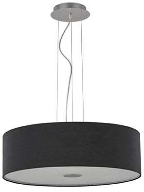 Textilné svietidlo IDEAL LUX Woody SP5 Nero 105628
