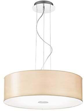 Textilné svietidlo IDEAL LUX Woody SP5 Wood 087719