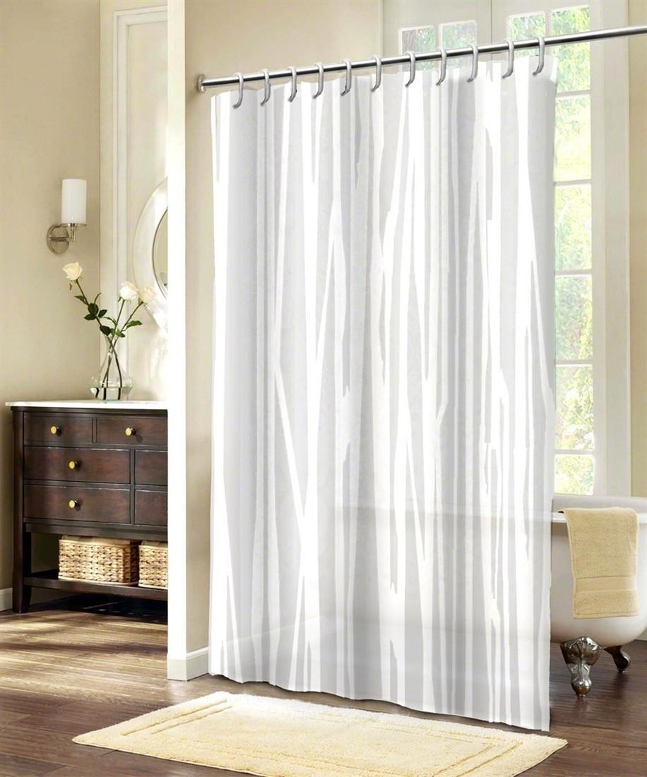 Textilný sprchový záves PE5016A 150x200, 180x200 - 180x200