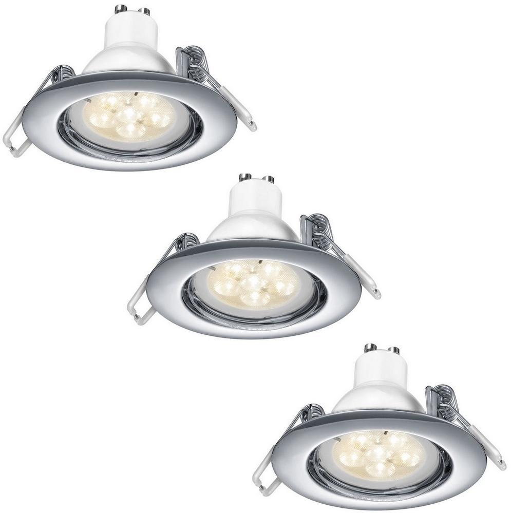 TRIO - SADA 3x LED Stmievateľné podhľadové svietidlo 3xGU10/5,5W/230V