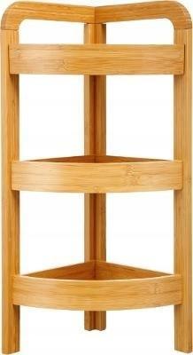 Trojúrovňová bambusová polica 5Five 4234, 61 cm