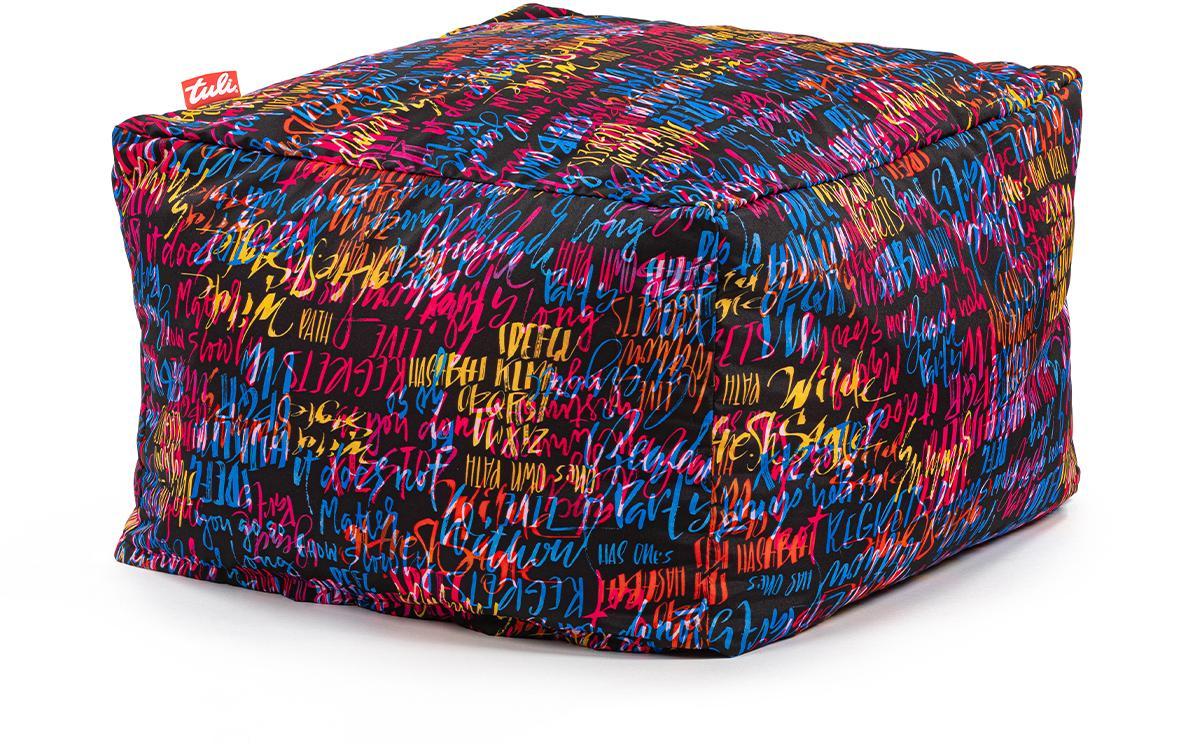 Tuli Block Snímateľný poťah - Polyester Vzor Graffiti Čierna