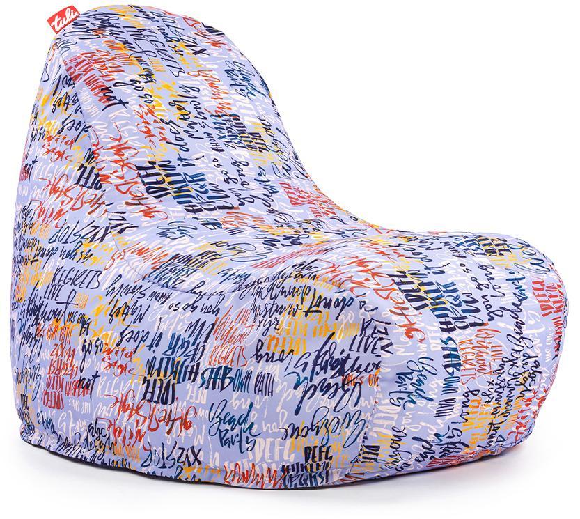 Tuli Relax Snímateľný poťah - Polyester Vzor Graffiti Modrá