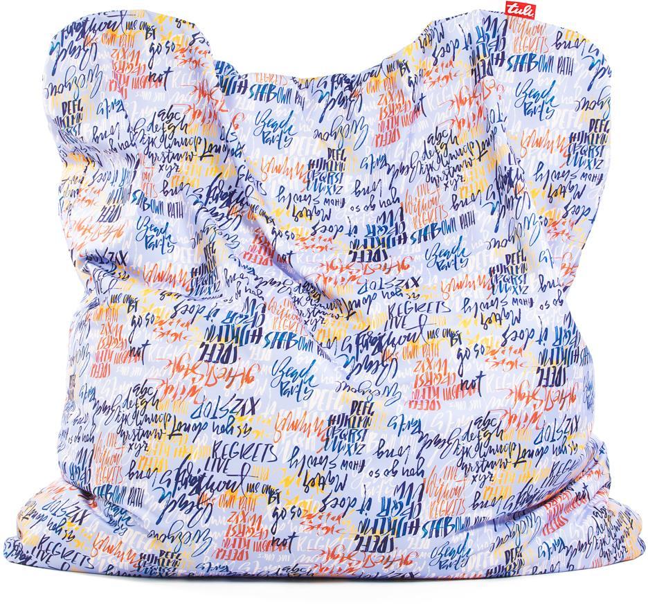 Tuli Smart Snímateľný poťah - Polyester Vzor Graffiti Modrá