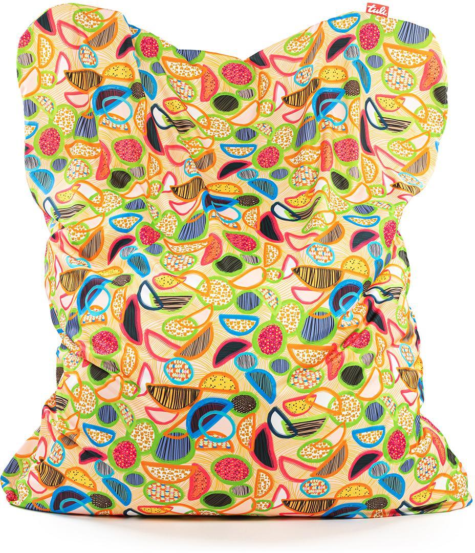 Tuli Sofa Snímateľný poťah - Polyester Vzor Lemon Juicy