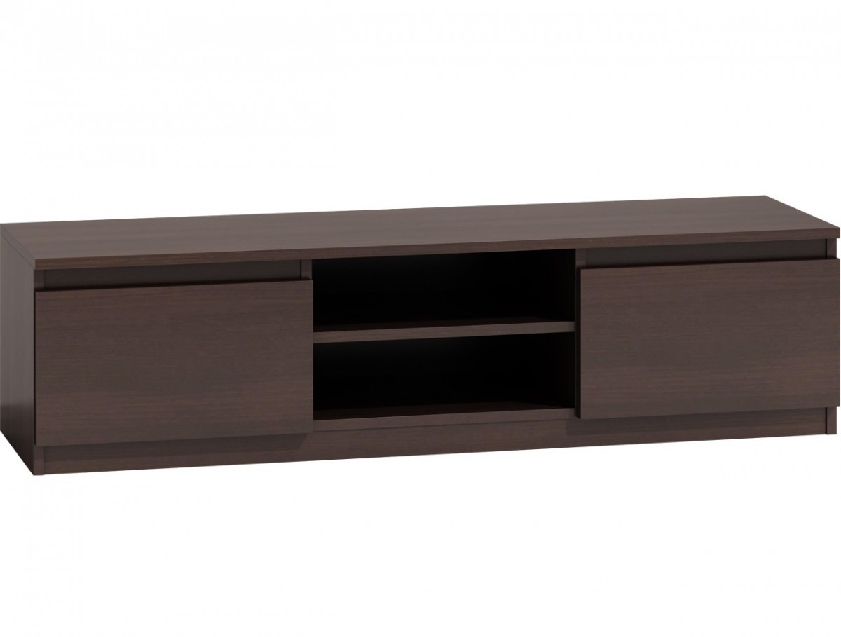 TV stolík KARO RTV LCD 140 tmavohnedý