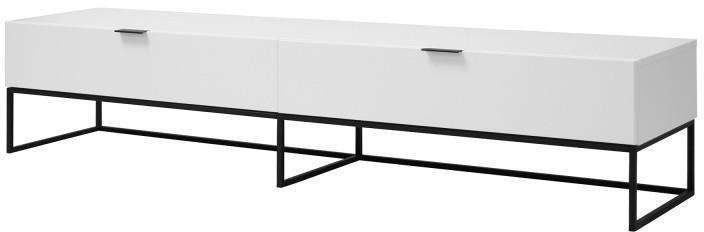 TV stolek Kobe bílý