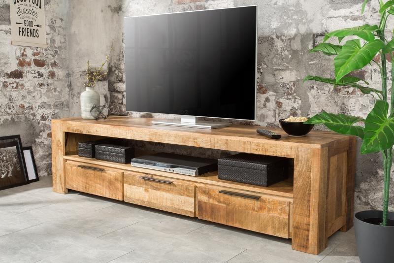 TV stolík Iron Craft 170 cm mango