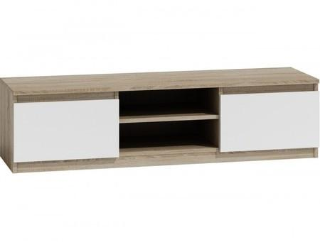 TV stolík LCD 140 cm dub sonoma/biela
