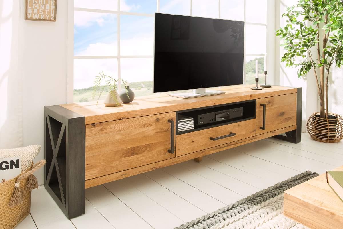 TV stolík Thunder 200cm divý dub