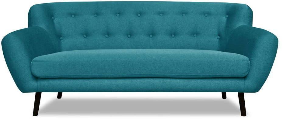 Tyrkysová pohovka Cosmopolitan design Hampstead, 192 cm