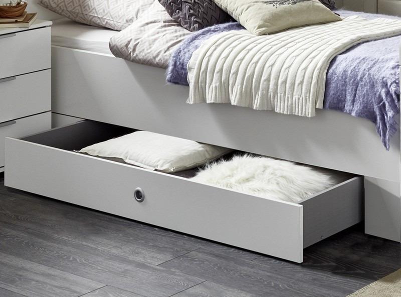 Úložná zásuvka pod posteľ Nadja, biela