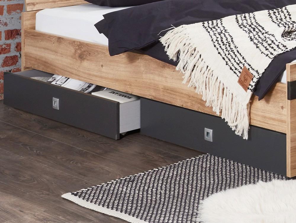 Úložné zásuvky pod posteĺ (set 2 ks) Liverpool, dub