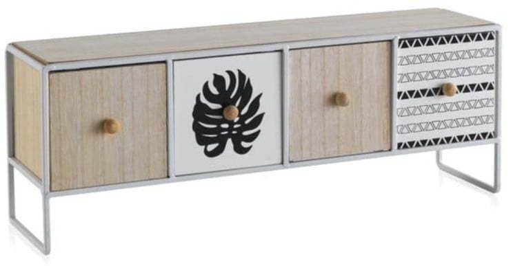 Úložný box so 4 zásuvkami Geese Munich, dĺžka 43 cm