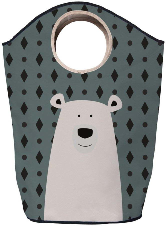 Úložný kôš Mr. Little Fox Polar Bear, 60 l