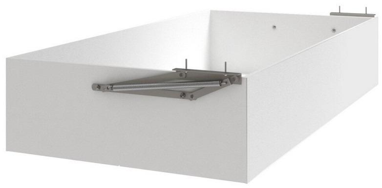 Úložný priestor pod posteľ Mega 90x200 cm, biela