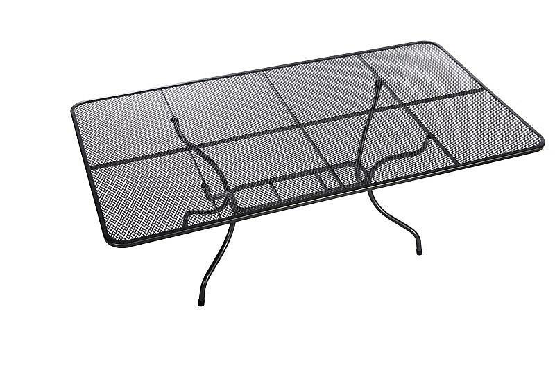 Unikov Kovový stôl obdĺžnik 145 x 90 cm