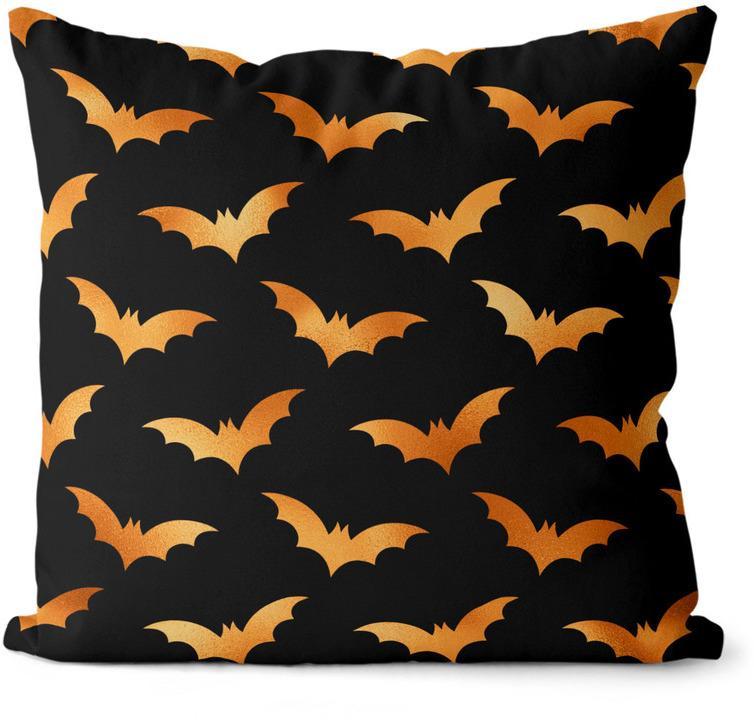 Vankúš Halloween bats (Velikost polštáře: 40 x 40 cm)