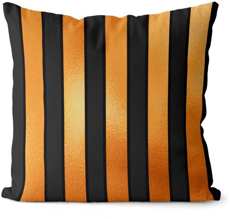 Vankúš Halloween Stripes (Velikost polštáře: 40 x 40 cm)