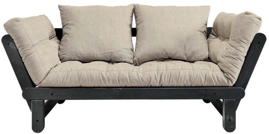 Variabilná pohovka Karup Design Beat Black/Linen Beige
