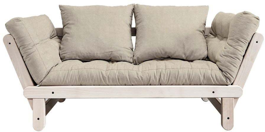 Variabilná pohovka Karup Design Beat Natural Clear/Linen Beige
