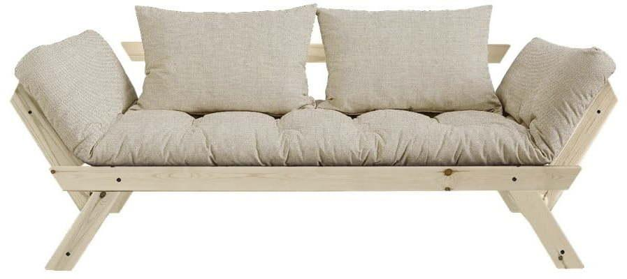 Variabilná pohovka Karup Design Bebop Natural Clear/Linen Beige