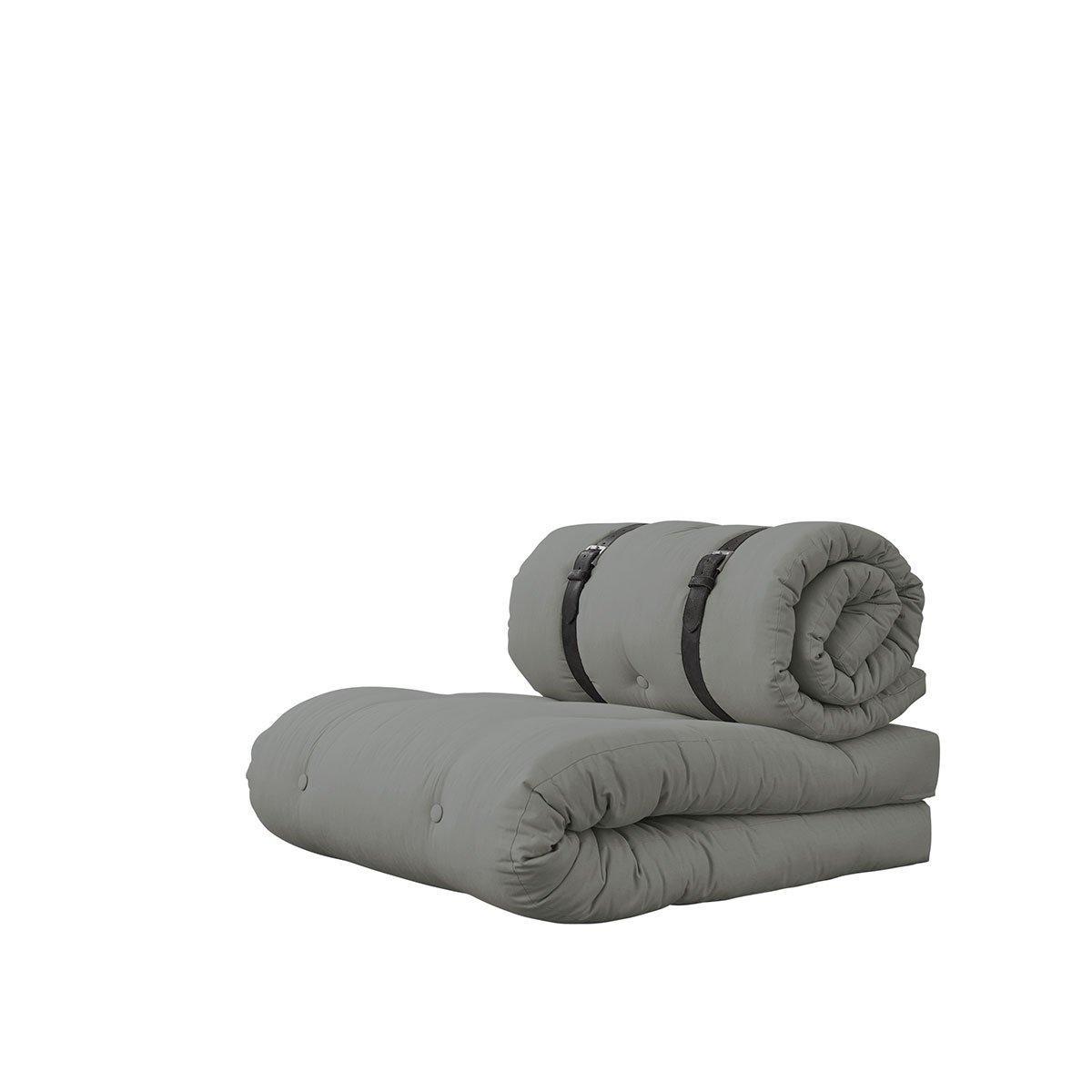 Variabilné kreslo Buckle-Up – Grey/Grey